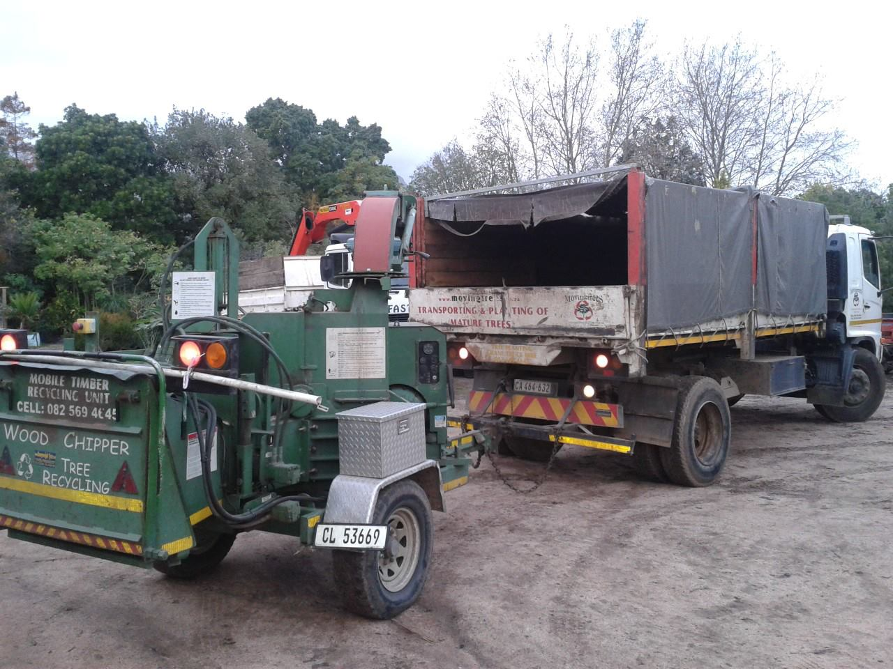 Wood Chippers | Tree Transportation | Moving Trees & Crane Hire